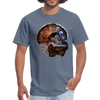 Turkey t-shirt - Animal Face T-Shirt - denim
