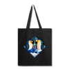 Penguin Tote Bag - black