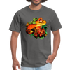 Striking tree snake t-shirt - Animal Face T-Shirt - charcoal