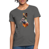 Rabbit Women's T-Shirt - charcoal