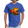 Striking tree snake t-shirt - Animal Face T-Shirt - royal blue
