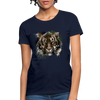 Tiger Women's T-Shirt - navy