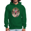 Mandrill Monkey Hoodie - forest green
