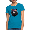 Black Panther Women's T-Shirt - turquoise