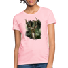 Deer with foliage Women's T-Shirt - pink