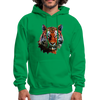 Tiger Men's Hoodie - kelly green