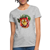 Watercolor Tiger Women's T-Shirt - heather gray