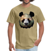 Panda t-shirt - Animal Face T-Shirt - khaki