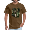 Deer with foliage Men's T-Shirt - brown