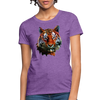 Tiger Women's T-Shirt - purple heather