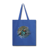 King fisher Tote Bag - royal blue