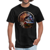 Turkey t-shirt - Animal Face T-Shirt - black