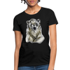Polar Bear Women's T-Shirt - black
