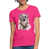 Polar Bear Women's T-Shirt - fuchsia