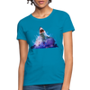 Shark Women's T-Shirt - turquoise