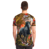 Horse All over print Unisex t-shirt