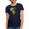 Elephant Women's T-Shirt - navy