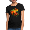 Snake Women's T-Shirt - black