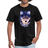 Wolf  t-shirt - Animal Face T-Shirt - black