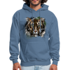 Tiger Men's Hoodie - denim blue