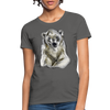 Polar Bear Women's T-Shirt - charcoal