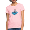 Jumping shark Women's T-Shirt - pink