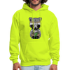 Racoon Men's Hoodie - safety green