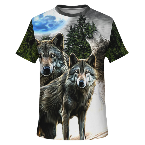 Wolf Unisex All over print t-shirt