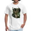 Deer with foliage Men's T-Shirt - white