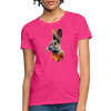 Rabbit Women's T-Shirt - fuchsia