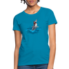 Jumping shark Women's T-Shirt - turquoise