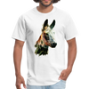 Donkey t-shirt - Animal Face T-Shirt - white