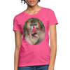 Mandrill Monkey Women's T-Shirt - heather pink