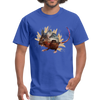 Mouse t-shirt - Animal Face T-Shirt - royal blue