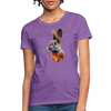 Rabbit Women's T-Shirt - purple heather