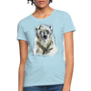 Polar Bear Women's T-Shirt - powder blue