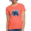Dolphin Women's T-Shirt - heather coral
