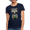 Racoon Women's T-Shirt - navy