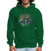 King Fisher Men's Hoodie - forest green