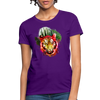 Watercolor Tiger Women's T-Shirt - purple