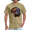 Turkey t-shirt - Animal Face T-Shirt - khaki