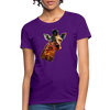 Giraffe Women's T-Shirt - purple