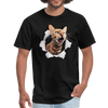 Cat with eyes Men's T-Shirt - black