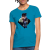Young wolf Women's T-Shirt - turquoise