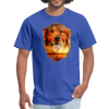 Golden Retriever Dog t-shirt - Animal Face T-Shirt - royal blue