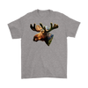 Moose T-Shirt - Animal Face T-Shirt