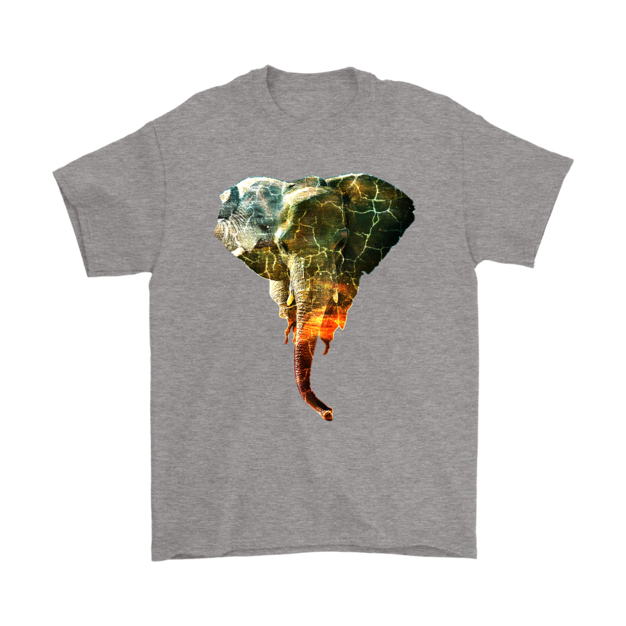 Thunder Elephant T-Shirt - Animal Face T-Shirt