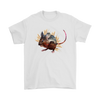 Mouse T-Shirt - Animal Face T-Shirt