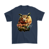Owl T-Shirt - Animal Face T-Shirt