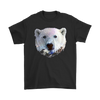 Polar Bear T-Shirt - Animal Face T-Shirt